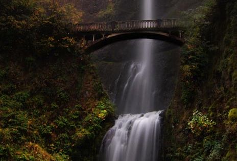 Multnomah Falls - Portland, Oregon. It would be so great to stop