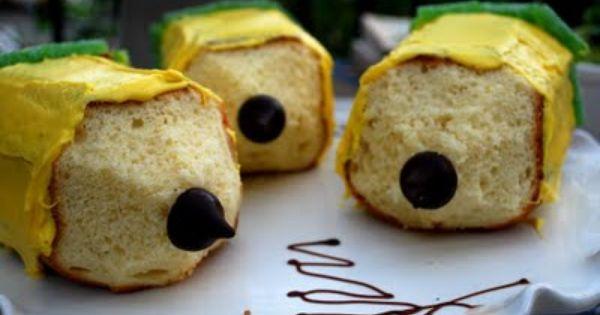 Pencil Cakes. Cute idea for a teacher!