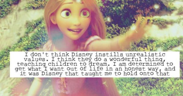 Walt Disney Confessions. I loathe whenever people say that Disney princesses give