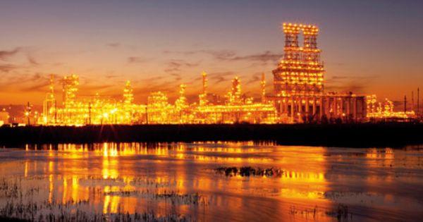Total Refinery Port Arthur Texas Usa Port Arthur Port Arthur