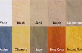 Tuscan Color Palett With Images