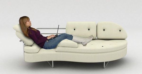 Nice Laidback Multifunctional Futon Sofa For Perfect Ergonomic Postures In Any  Situation | Futon Sofa, Multifunctional And Smart Furniture