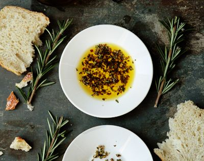 Extra virgin olive oil herb dip recipe.