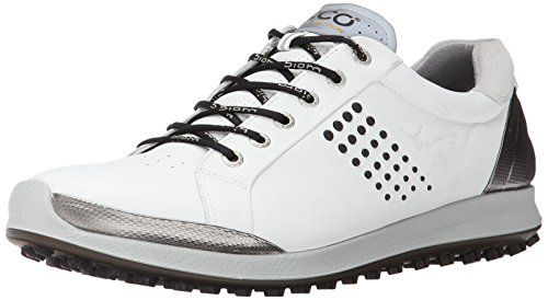 Uk Golf Gear Ecco Men S Ecco Men S Golf Biom Hybrid 2 Golf Shoes White Size 10 Uk Calzas