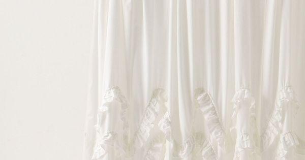 Waves Of Ruffles Shower Curtain Curtains Pinterest Ruffle Shower