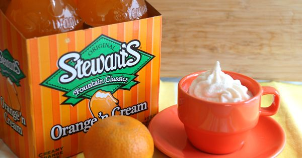 Orange Creme Ice Cream (Only 4 Ingredients) - Mix 1 small container