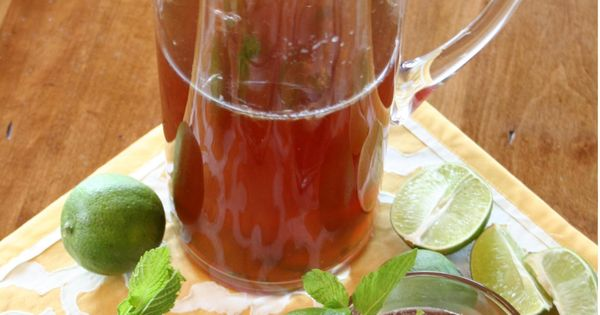 Sweet Tea Mojitos Alternative recipe: 1 tea bag (or a pinch of