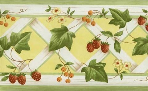 Kk79367 Kitchen Elements Totalwallcovering Com Wallpaper Border Hydrangea Wallpaper Wallpaper