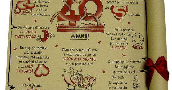 Papiro 40 Anni Prodotti E Articoli Regalo Per Tutte Le