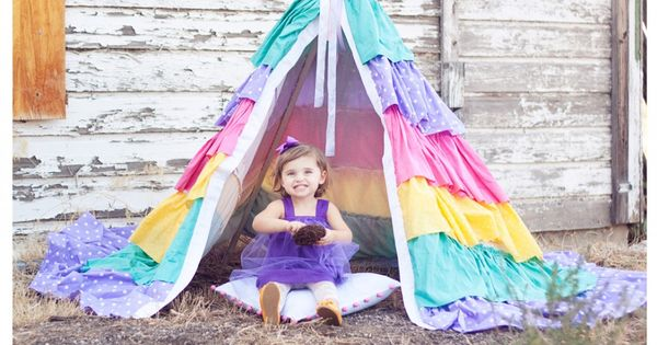 Kids love being creative & play tents are Awesome for pretend play!
