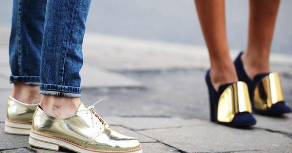 LFW Shoes Street Style - JAK & JIL