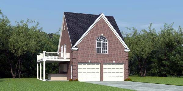 2 Car Garage Apartment Plan Number 44908 With 1 Bed 2 Bath Carriage House Plans Garage Apartments Garage Apartment Plan
