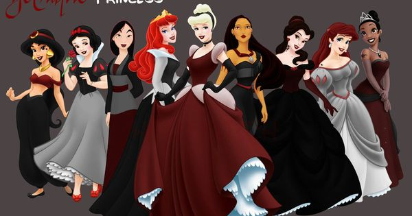 Goth Disney Princess!