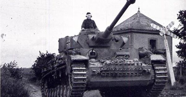 The 21st German Panzer Division Attacks The East Side Of The British Troops And Many Soldiers Of The 159th British Brigade Are Enci German Tanks Panzer Iv Tank