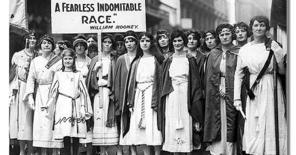 Suffragette's- Women Warriors