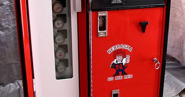 Man Cave Vending Machine : Greatest vending machine ever husker football