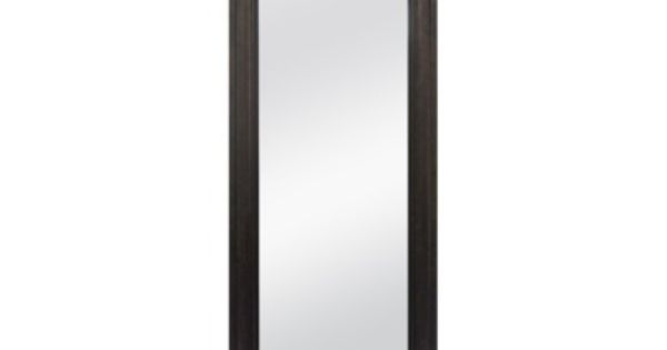 Rectangle simply extraordinary leaner floor mirror classic for Miroir jondal ikea