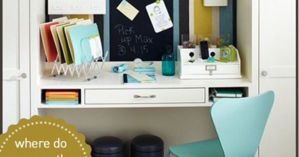 Cute Home Small Office Space Ideas