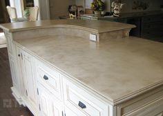 Concrete Countertop Light Color
