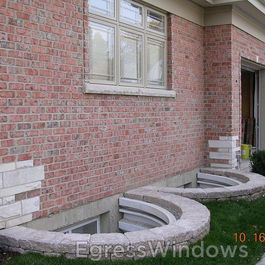 Basement Window Well Home Products On Houzz Egress Window Landscaping Egress Window Egress Window Well
