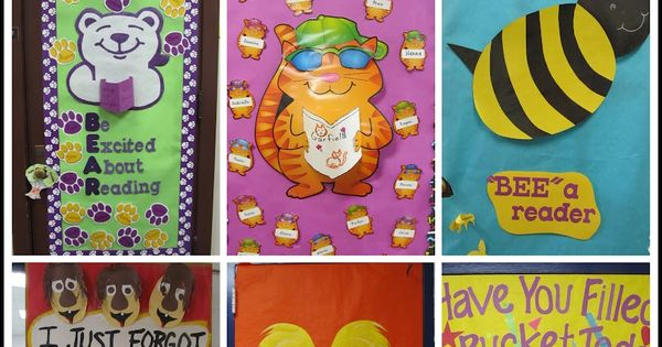 Tons of ideas for classroom doors, bulletin boards, classroom organization, and more.