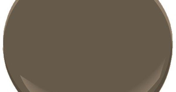 North Creek Brown 1001 Benjamin Moore Paint Shutter Color