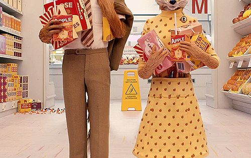 Wes Anderson Film: Fantastic Mr. Fox Ft. Meryl Streep and George Clooney