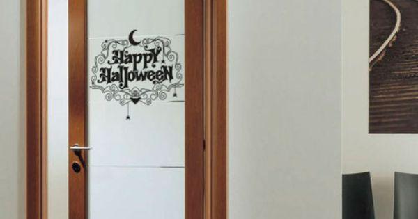 Vinilo para decorar la puerta de entrada a casa y darle la - Vinilos para entradas ...