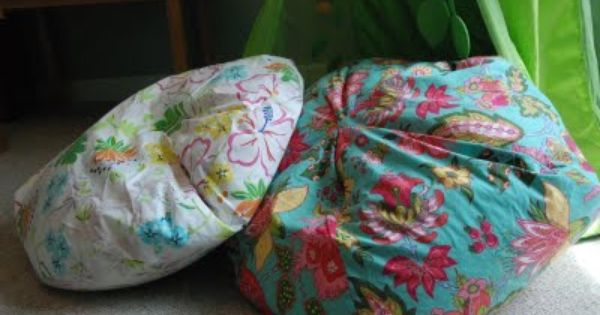 Bean Bag Chair Cover Tutorial Using This To Make Stuffed