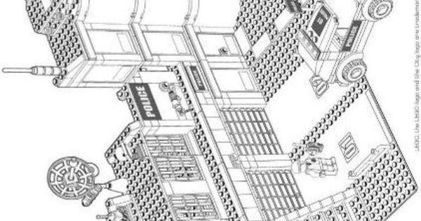 002 Ausmalbild Lego Polizei Hubschrauber Ausmalbilder: Malvorlagen Lego City Bilder Zum Ausmalen 843 Malvorlage