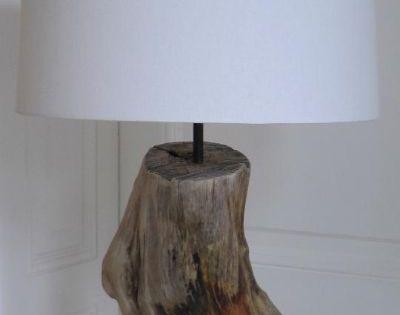 treibholzlampen und objekte elke paus candeeiros pinterest treibholz lampe selber bauen. Black Bedroom Furniture Sets. Home Design Ideas