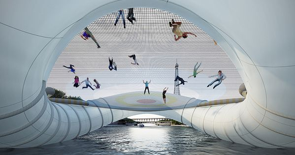 When ArchTriumph arranged the competition to design a contemporary bridge in Paris,