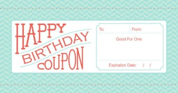 free downloadable  fillable  printable coupons for birthday  anniversary  or valentine u0026 39 s day