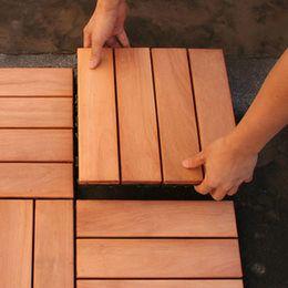 Snapping Deck Tiles By Vifah Deck Tiles Outdoor Flooring Deck Tile