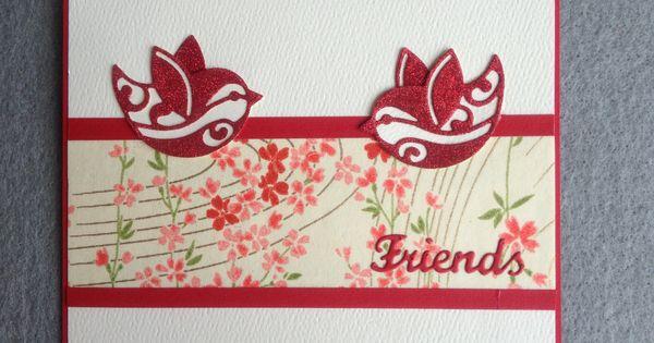 Card uses elizabeth craft design dies and silk micro fine for Elizabeth craft microfine glitter