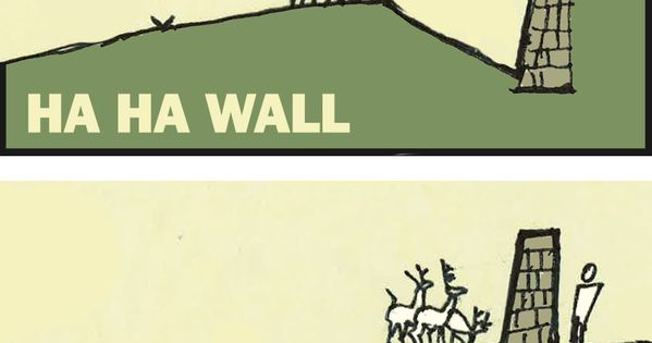 Ha ha wall diagram - Ha-ha - Wikipedia, the free ...