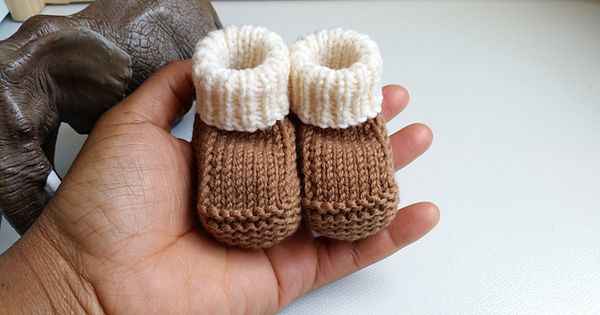 Free Knitting Pattern Prisca S Baby Booties This