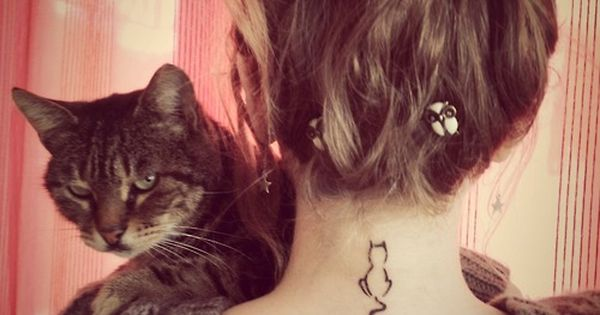 cat tattoo, i want a kitty tattoo!