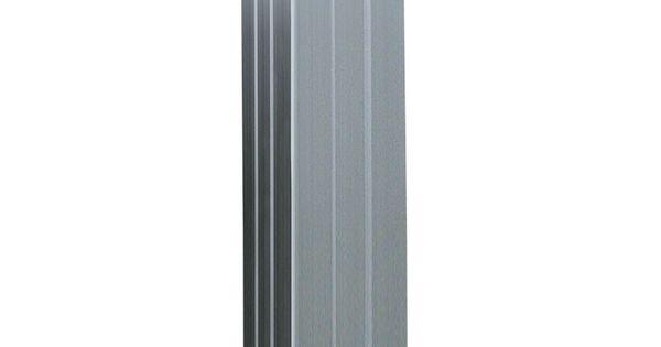 Deze Aluminium Paal Wordt Gebruikt Bij De Zelfbouw Systeem Van Elephant En Is Geschikt Voor De 180 X 97 Cm Schuttingen Type Modular En Mix Match Deze Is 6 8 Cm