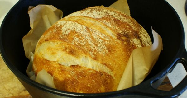 Dutch oven bread, Dutch ovens and The merlin on Pinterest