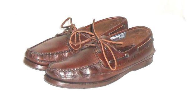 Dexter Navigator Men's Brown Leather