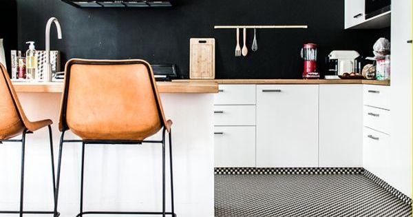 Cocina en blanco y negro deco pinterest vitrinas for Deco sala en blanco y negro