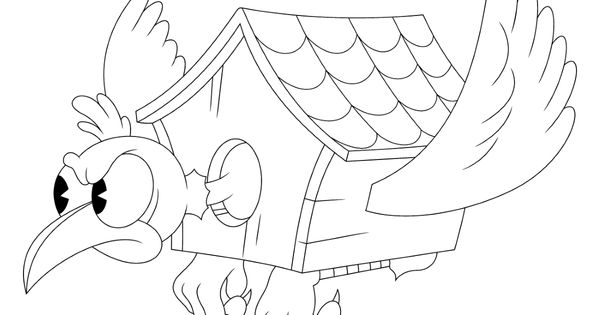 10 Free Printable Cuphead Coloring Pages Cartoon Coloring Pages