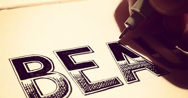 This guy has great hand lettering tutorials and advice for us beginners!