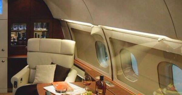 Le Jet Priv De Luxe En 50 Photos Canap S En Cuir Beige Avion Priv Et Int Rieur De Luxe