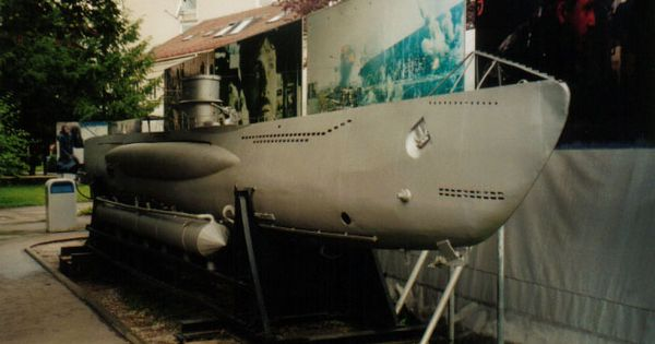 "Model U boat (U-96 VIIC) from the Movie ""Das Boot ..."