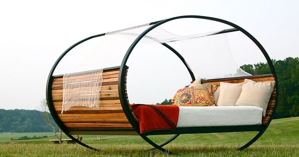 Mood Rocking Bed @touchofmodernShiner International Furniture That Rocks From rolling benches to