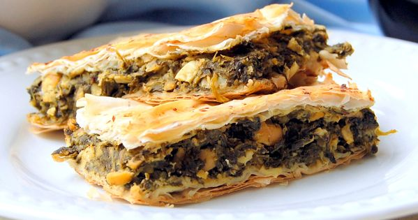 Spanakopita, Greek cooking and Spinach pie on Pinterest