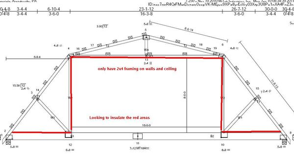 Gambrel Roof Gambrel Attic Roof Trusses Projects To