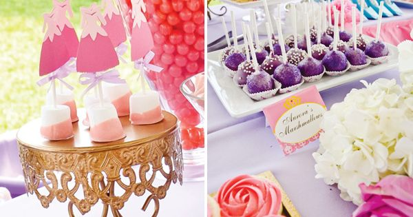 Disney Princess Party Madeleine 6 year party idea